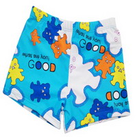 Cartoon Children Swimming Short